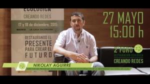 Niko Foro Madrid 2015